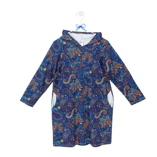 sukienka z kapturem wzór 9