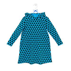 sukienka z kapturem wzór 11
