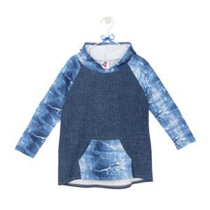bluza krótka – kangurek wzór 2