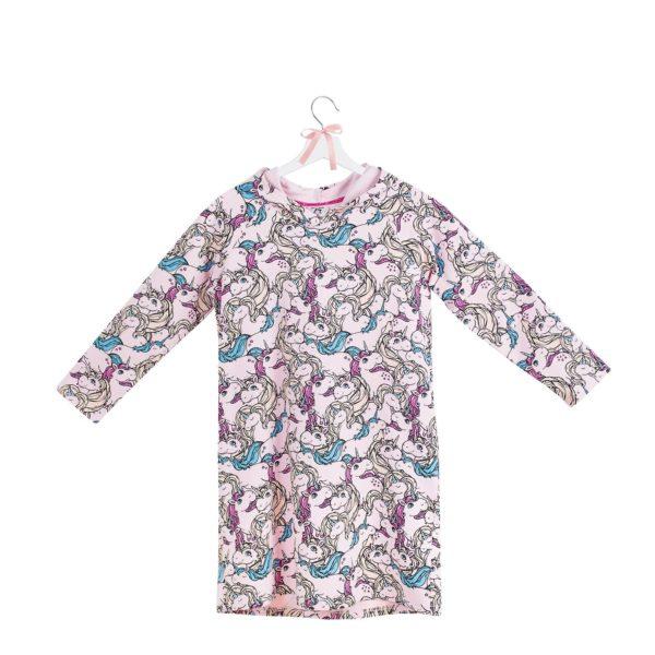 sukienka z kapturem wzór 16