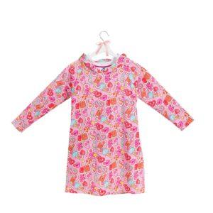 sukienka z kapturem wzór 17