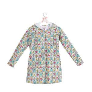 sukienka z kapturem wzór 19
