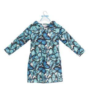 sukienka z kapturem wzór 21